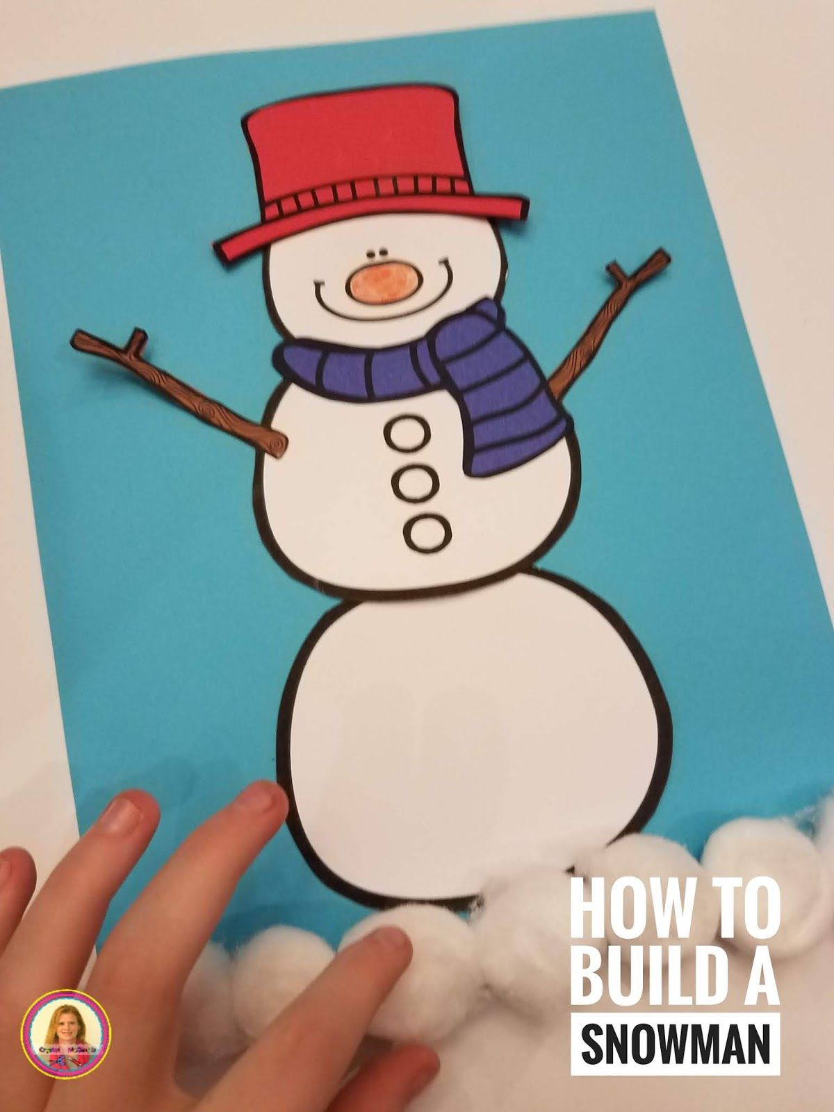 How To Build A Snowman Activities