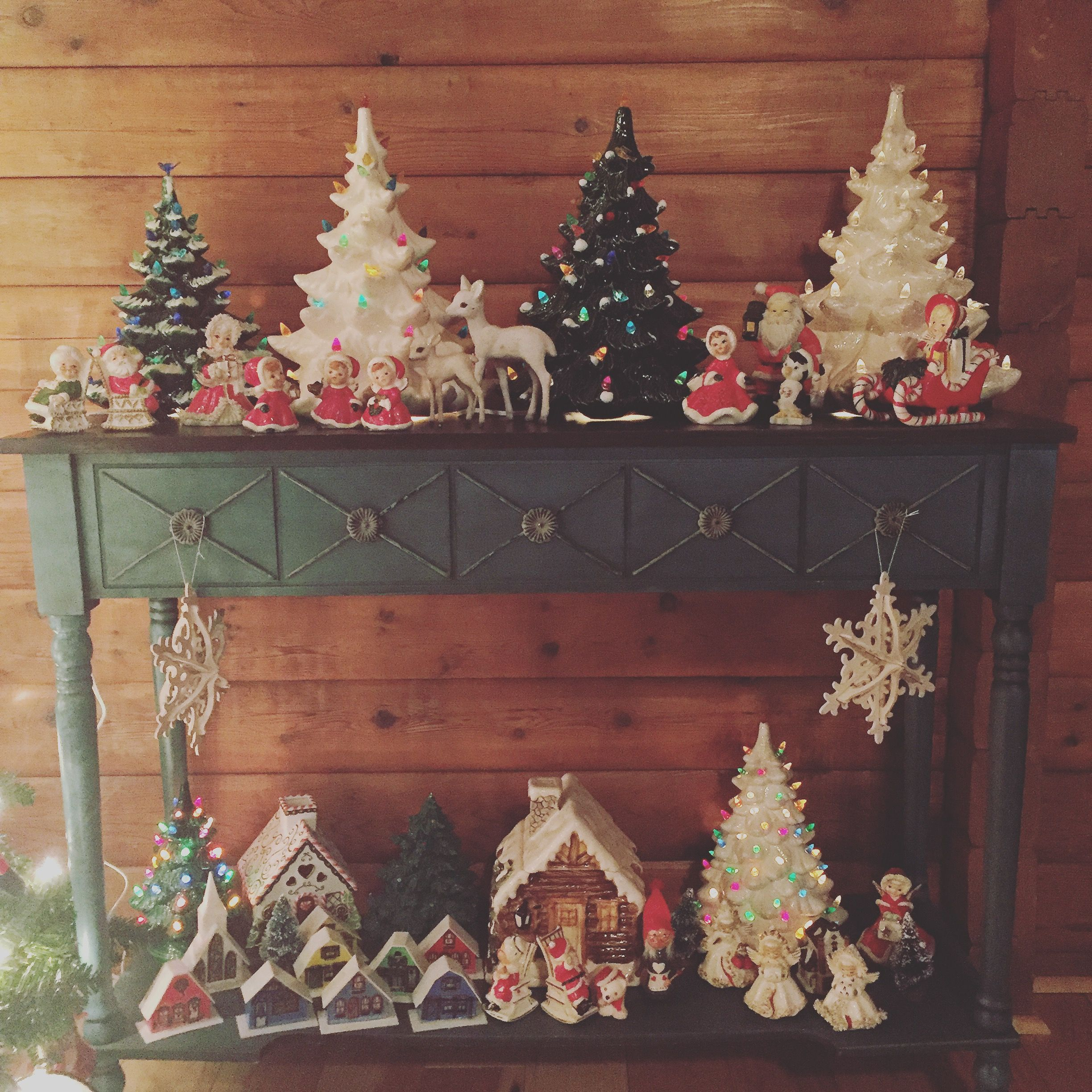 Ceramic tree display for christmas my collection nfs pinterest