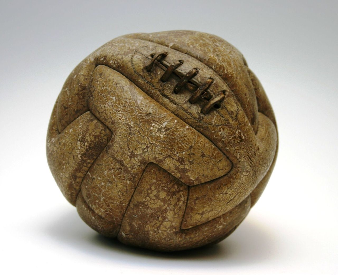 This Is 1 Of 2 Balls Used In The First World Cup Final Held On July 30 1930 93000 Spectators Looked On As Uruguay De First World Cup World Cup World Cup Final