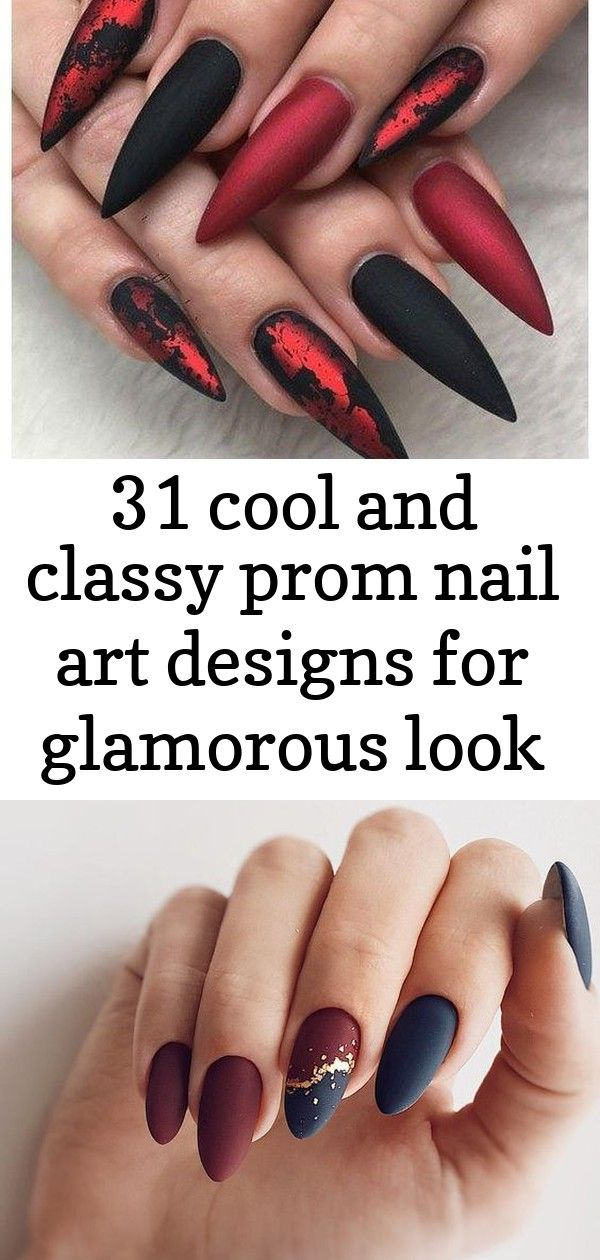 31 cool and classy prom nail art designs for glamorous look 2019 00070 | armaweb07.com 7