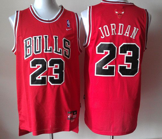 faeec8dc5 Nike NBA Chicago Bulls 23 Michael Jordan New Revolution 30 Swingman Red  Jersey