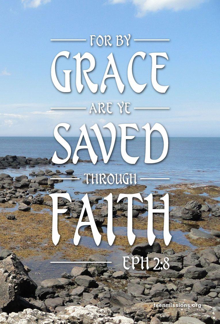 Teen Missions International—Bible Verse –Ephesians 2:8