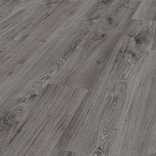 [neu.holz] Vinyl Laminat (1m²) Selbstklebend Eiche   Grau (7 Dekor Dielen U003d  0,975 Qm) Design Bodenbelag / Gefühlsecht / Strukturiert