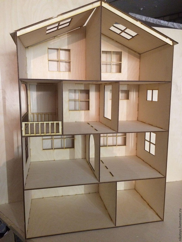 более десятка фотографии домика для кукол из фанеры прогрузки снимка
