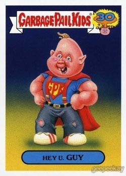 Garbage Pail Kids 30th Anniversary 80s Spoof Geepeekay Garbage Pail Kids Garbage Pail Kids Cards 80s Cartoons