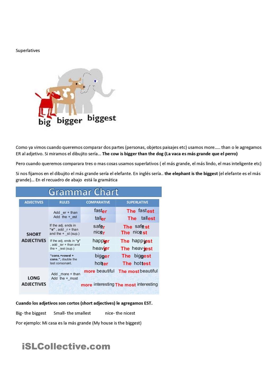 Superlatives Esl Worksheets Of The Day Pinterest Worksheets