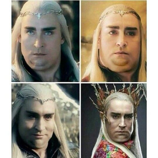 Omg why would someone even-?   Thranduil, The hobbit, I ...