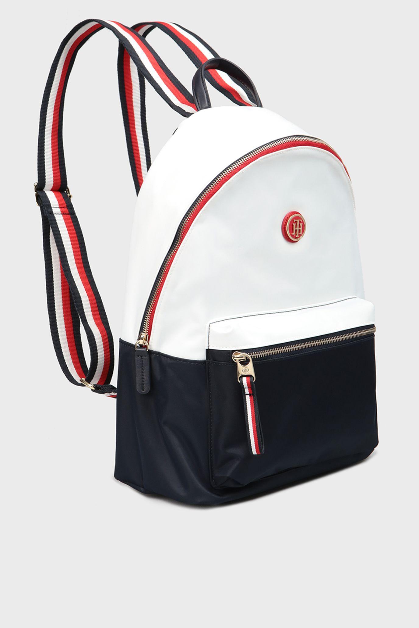Купить Женский белый рюкзак Tommy Hilfiger Tommy Hilfiger AW0AW05407 –  Киев 768f48d10662f
