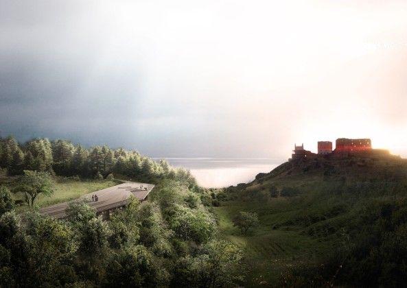 Archaisch auf der Insel  - Pläne für Besucherzentrum auf Bornholm