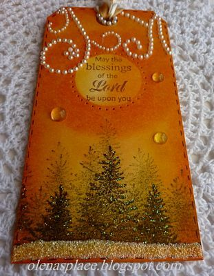Magnificent Spruce Trees Tag