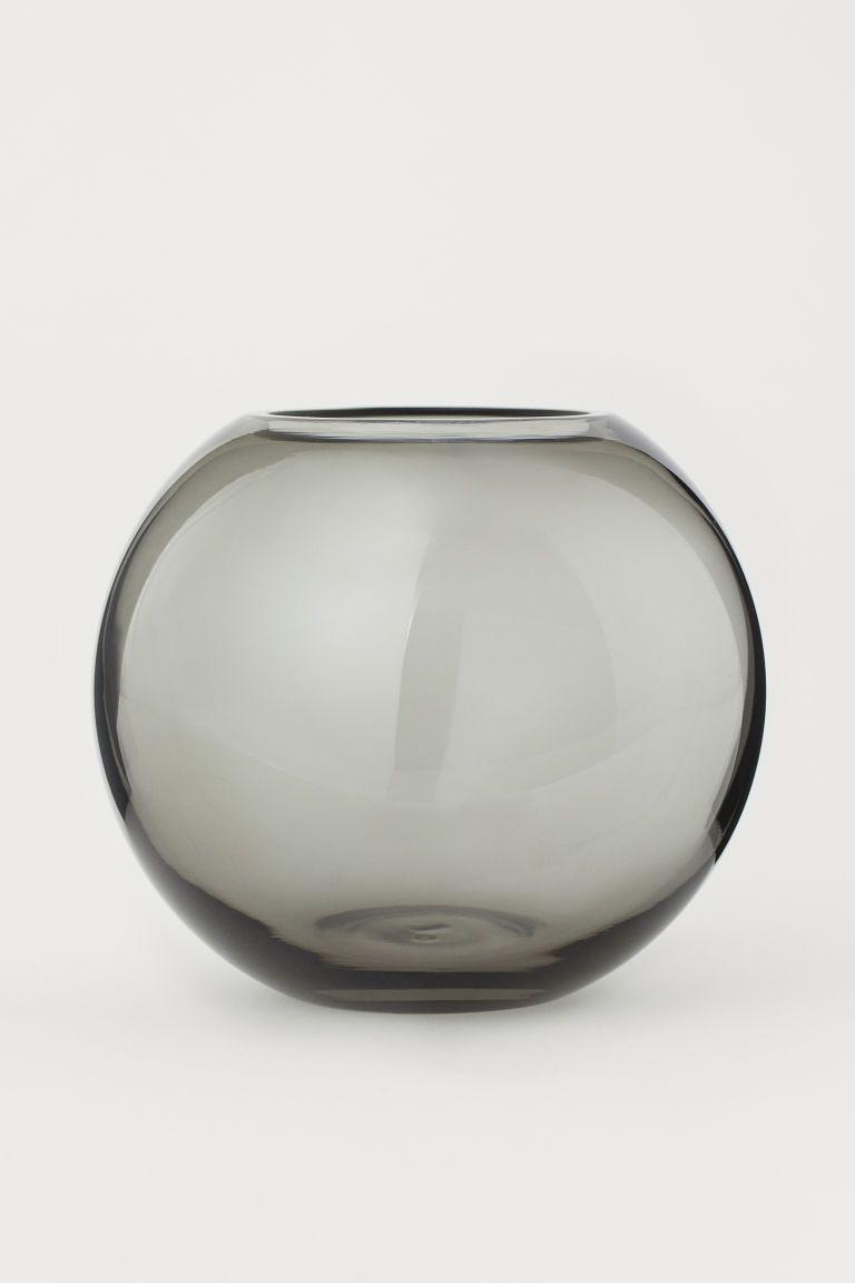 Small Glass Vase Small Glass Vases Round Glass Vase Vase