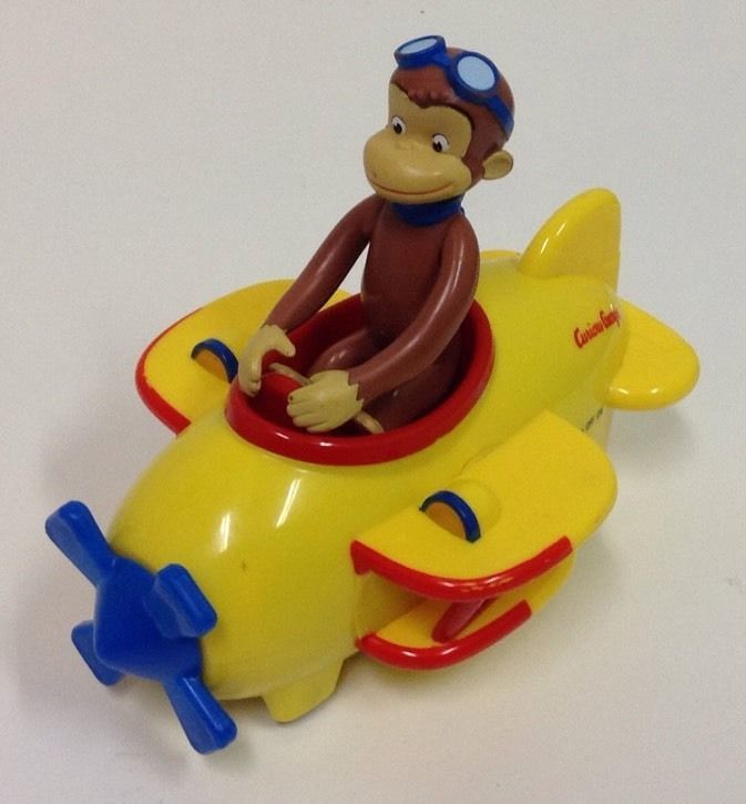 PBS Kids Curious George Monkey Airplane Toy  PBSKids. PBS Kids Curious George Monkey Airplane Toy  PBSKids   Curious