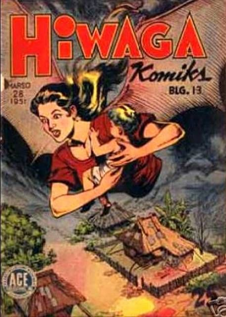 Hiwaga Komiks contained mostly supernatural, horror stories