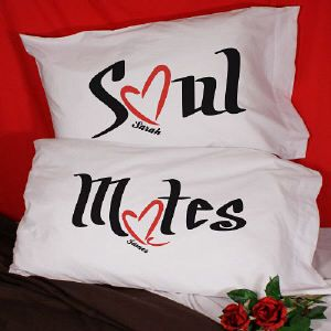 eea819dcde Personalized Soul Mates Pillowcase Set