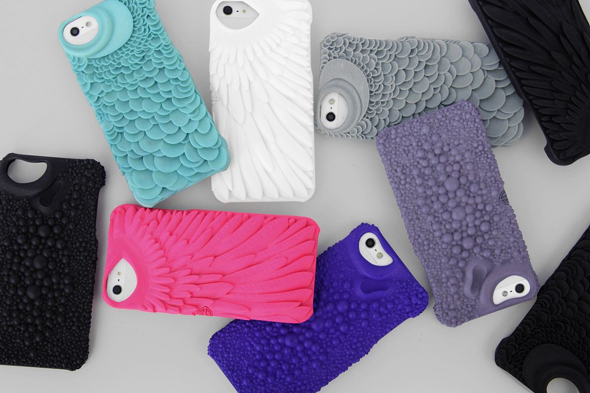 Barracuda pattern for Fierce Forms phone cases on Behance