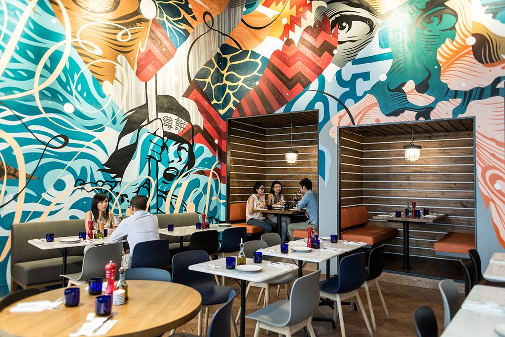 Restaurant Bar Design Awards Shortlist 2015 Colour