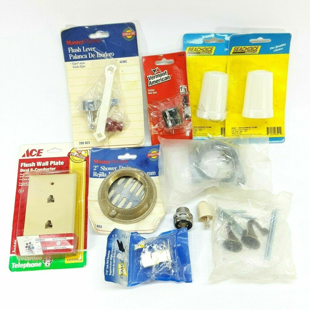 Miscellaneous Items Lot 3 Ace Master Plumber Newell Seachoice 11