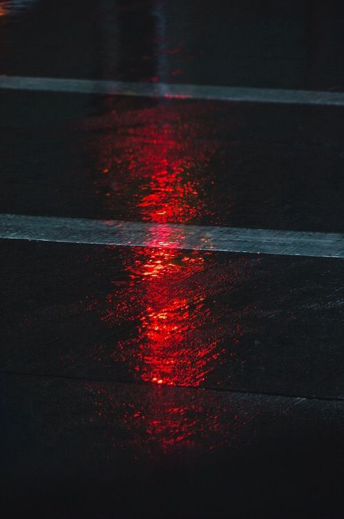 Red Light And Road Kep With Images Red Aesthetic Neon