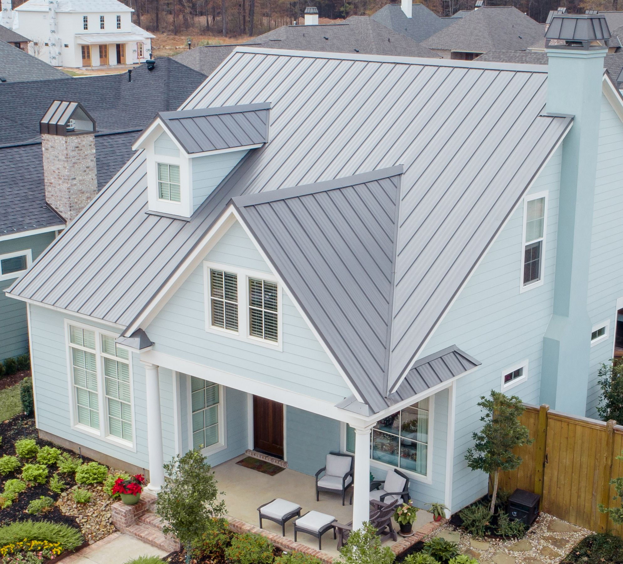 Best This Is A Mcelroy Metal Meridian Roof Panel Coated With 400 x 300