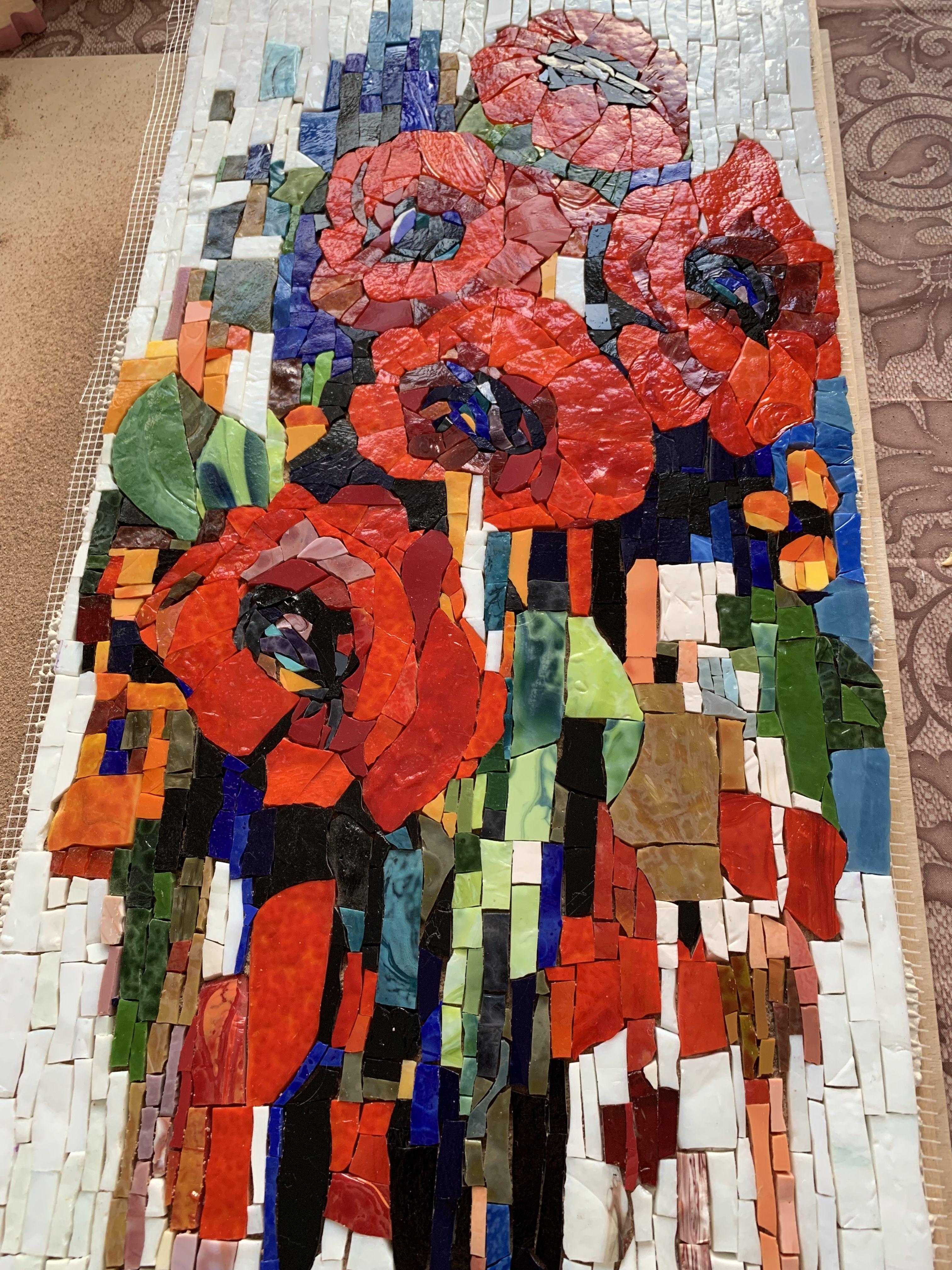 Pin by clauvrarei on Мозаика Инги Романовой.   Mosaic art, Mosaic ...