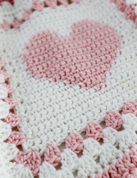 Baby Alphabet Blocks Afghan Crochet Pattern PDF by Maggiescrochet ...