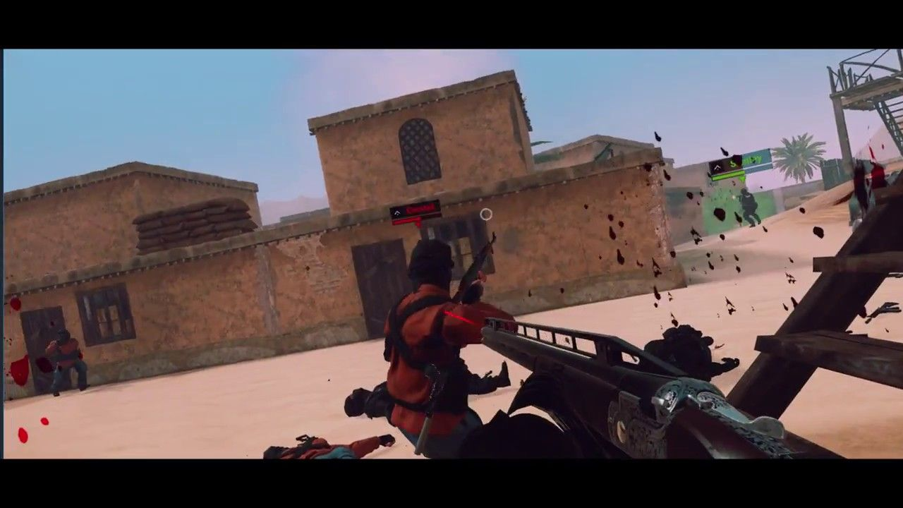 VR FPS Multiplayer Gameplay Teaser - Virtual Army