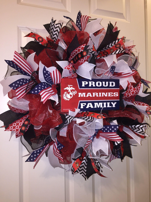 Marines wreath