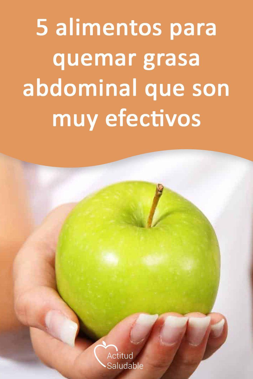 5 Alimentos Para Quemar Grasa Abdominal Que Son Muy Efectivos Alimentos Quema Grasa Alimentos Para Quemar Grasa Quemar Grasa Abdominal