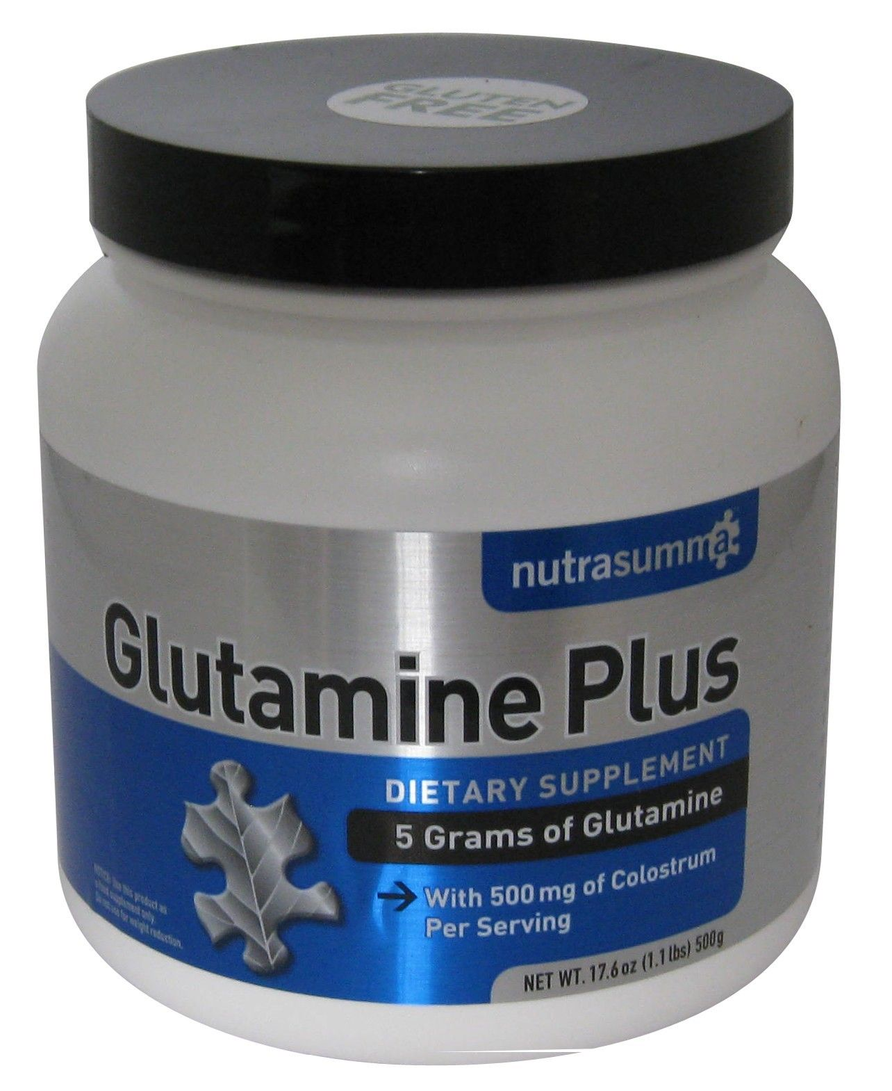 Glutamine Plus Colostrum Powder 500grams Health and