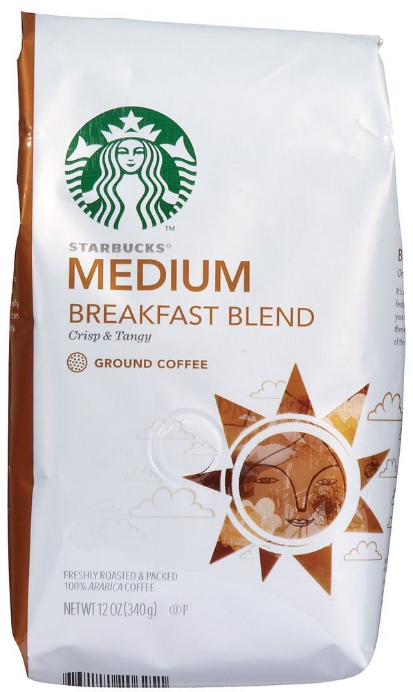 Coffee Starbucks Medium Roast House Blend Ground Bean Coffee 12 Oz Sealed Breakfast Blend Coffee Coffee Branding