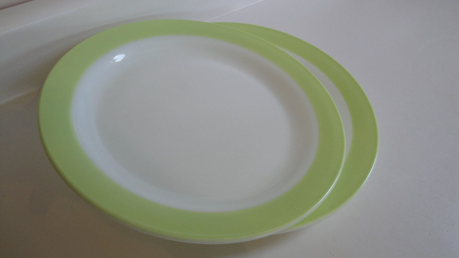 Lime Green Salad Plate 1952 Picked At 150 Main In Granite Falls Nc On 9 9 2011 For 0 50