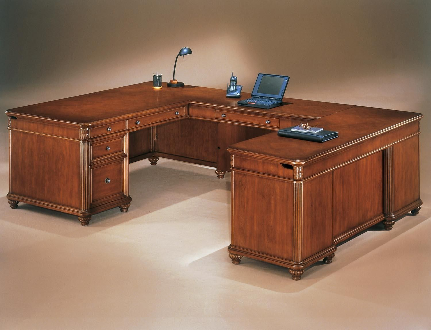 Office Desk U Shaped   Office Desk U Shaped   Ideas For Decorating A Desk,  Ameriwood Home Pursuit U Shaped Desk With Hutch Bundle