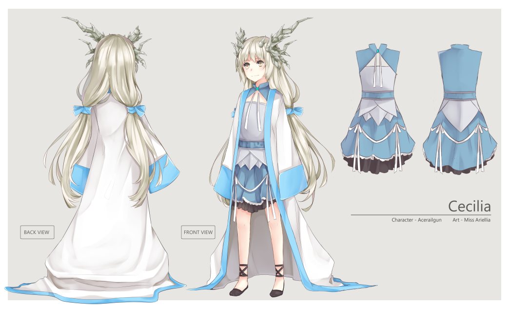 Design Anime Character Free : Com character sheet design acerailgun by miss ariellia
