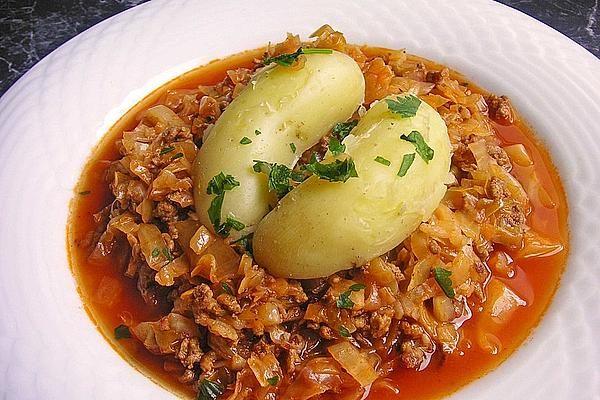 Kohl geschmort mit Hackfleisch #spitzkohlrezeptehackfleisch