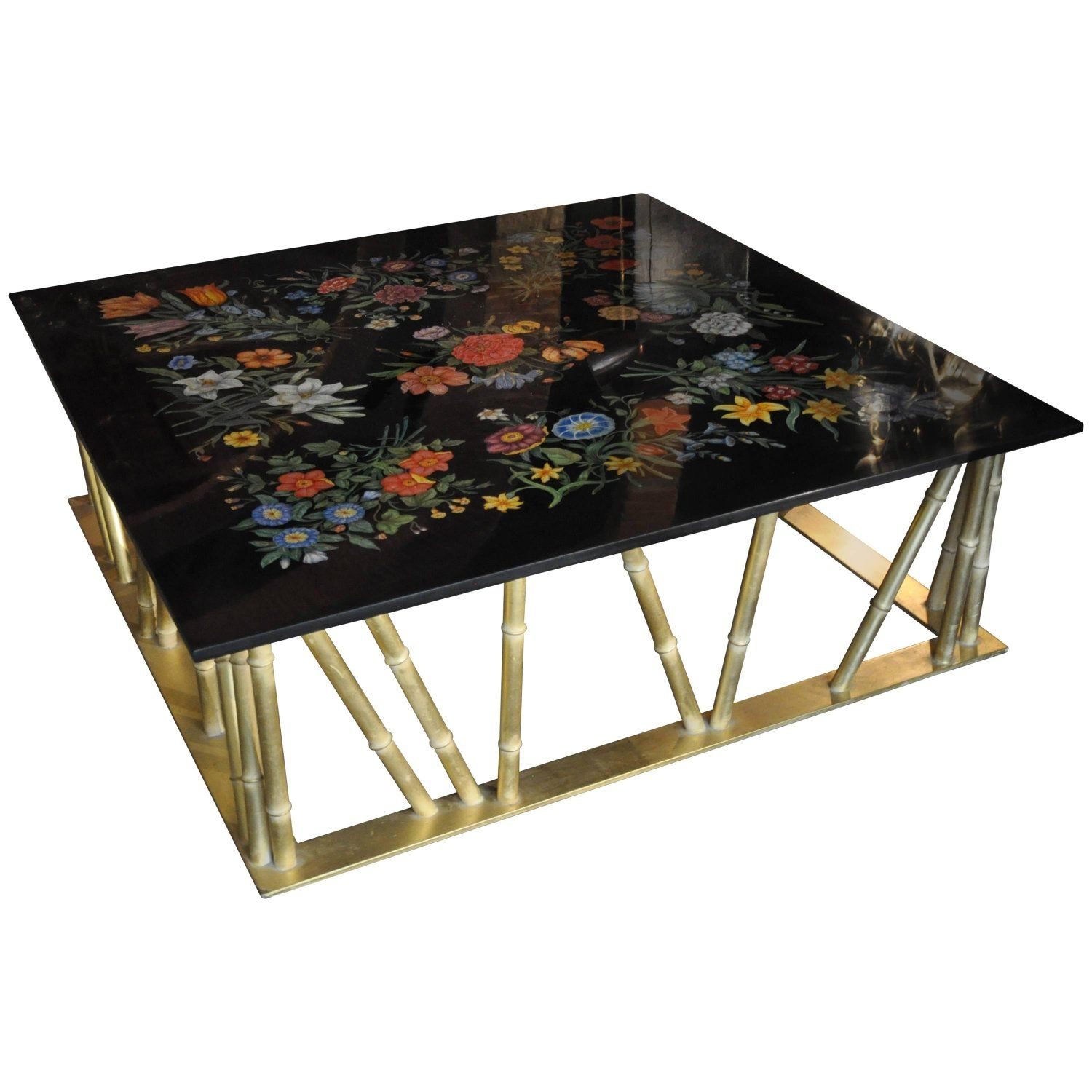 Scagliola Crafted Gucci Inspired Coffee Table 테이브ㄹ Pinterest - Gucci coffee table
