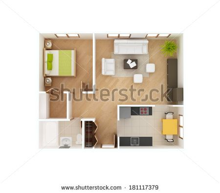 Floor Stock Photos Images Pictures One Bedroom House One Bedroom House Plans House Window Design