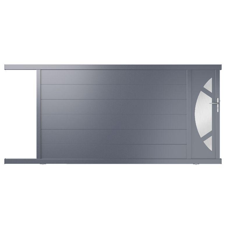 Portail Coulissant Aluminium Volterra Portail Coulissant Idees Pour La Maison Portail