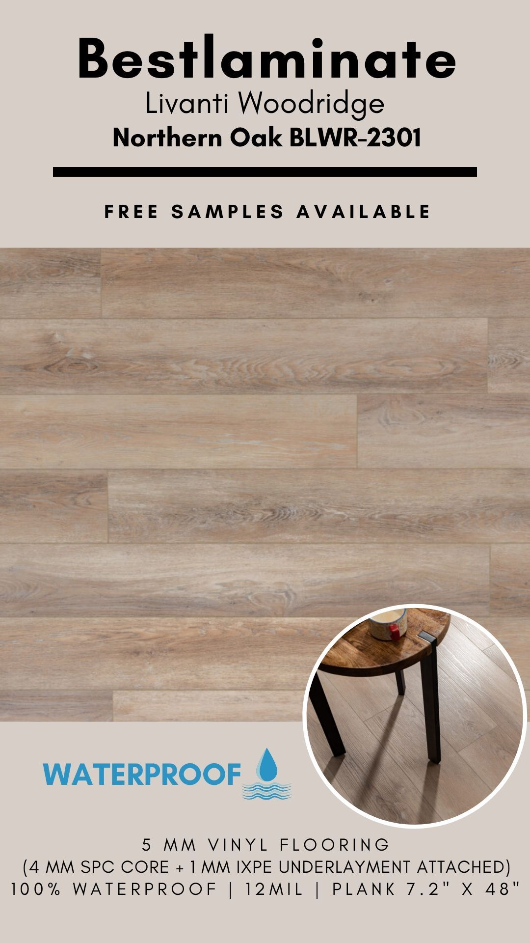 Bestlaminate Livanti Woodridge Northern Oak Blwr 2301 Luxury Spc Vinyl Flooring In 2020 Vinyl Flooring Flooring Luxury Vinyl Plank Flooring