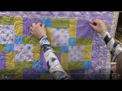 Disappearing Nine Patch with Mitered Corner Borders | Quilt ... : quilting videos site youtube - Adamdwight.com