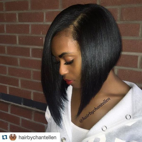 Long A Line Bob Haircut For Black Women 1 Trendy Bob Hairstyles Bob Hairstyles Short Bob Hairstyles