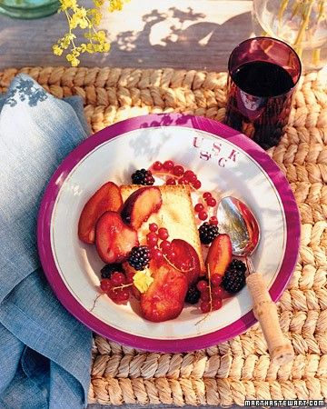 See our Cardamom Pound Cake with Roasted Late-Summer Fruit galleries