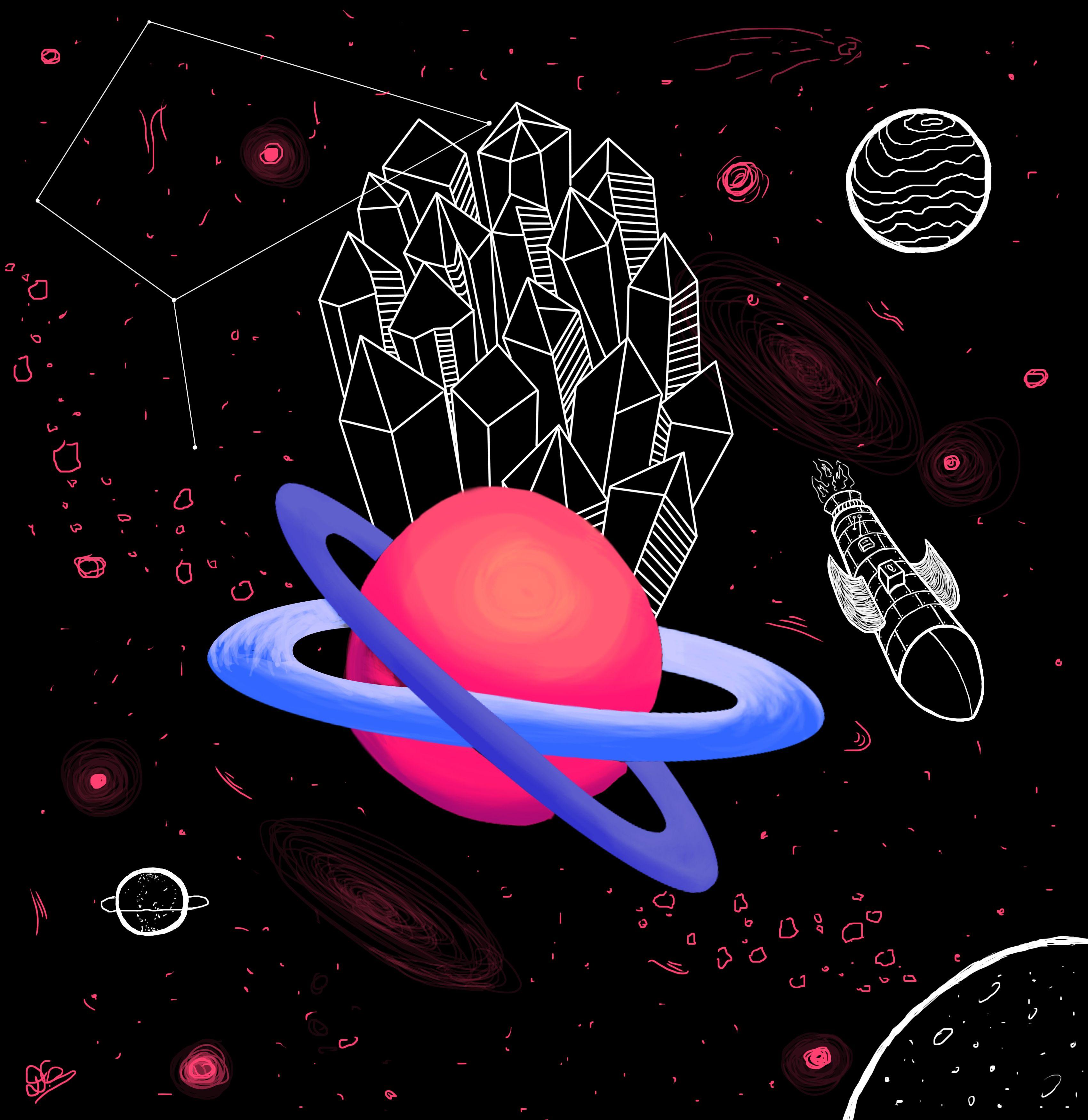 Cristales de Saturno