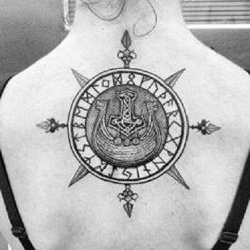 Diseños De Simbolos Y Tatuajes Vikingos Para Mujeres Tatuajes Para