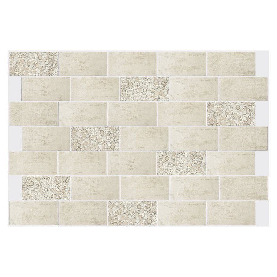 Shop american olean pebblestone 4 in x 8 in concrete ceramic wall shop american olean pebblestone x concrete ceramic wall tile at lowes canada find our selection of backsplashes wall tile at the lowest price guaranteed doublecrazyfo Images