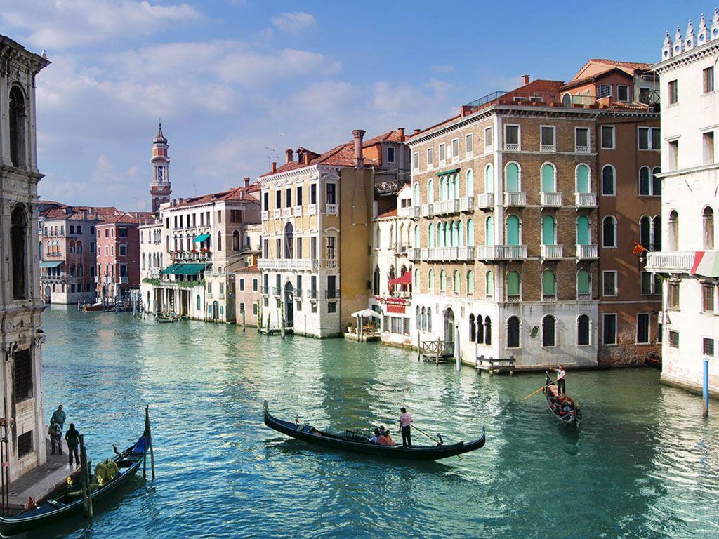 Venice, described as the City of Love. No cars, no roadways ...