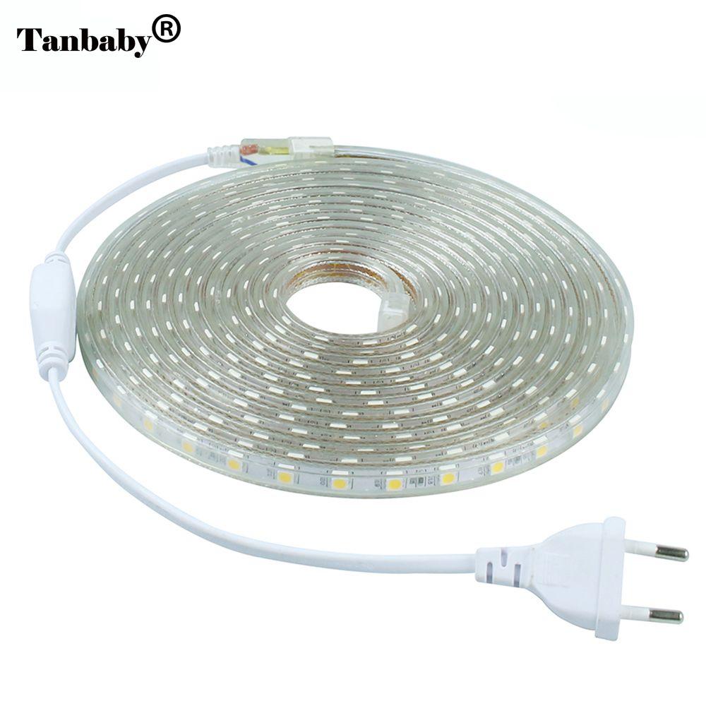 Tanbaby 220v Led Strip Light 5050 Smd
