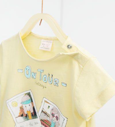 Camiseta fotos-CAMISETAS-BEBE NIÑA | 3 meses-3 años-NIÑOS | ZARA España