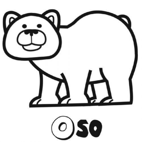 Dibujo Para Colorear De Oso Pardo Dibujos Para Colorear De Los Animales Del Bosque Dibujos De Osos Osos Pandas Dibujo Oso Pardo