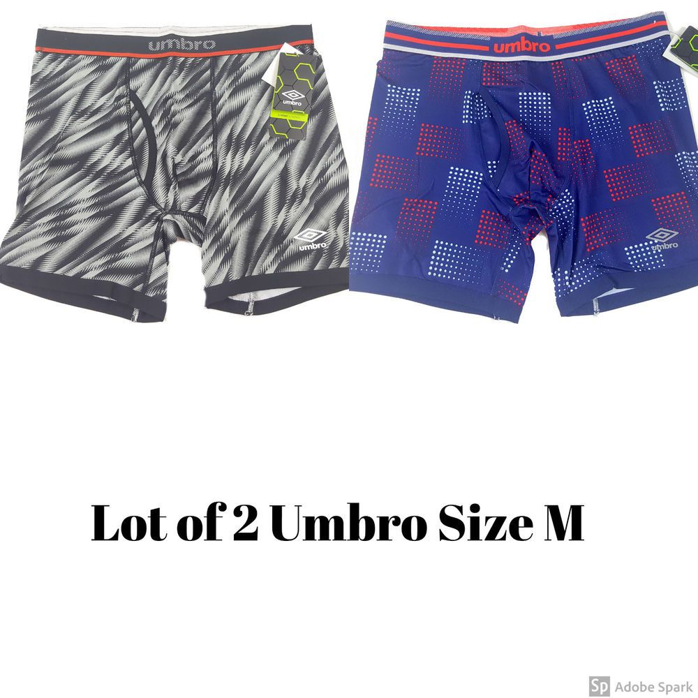 fe0373ee837d4 Umbro Men's Performance Boxer Briefs Comfort Size M Lot of 2 #Umbro  #BoxerBrief