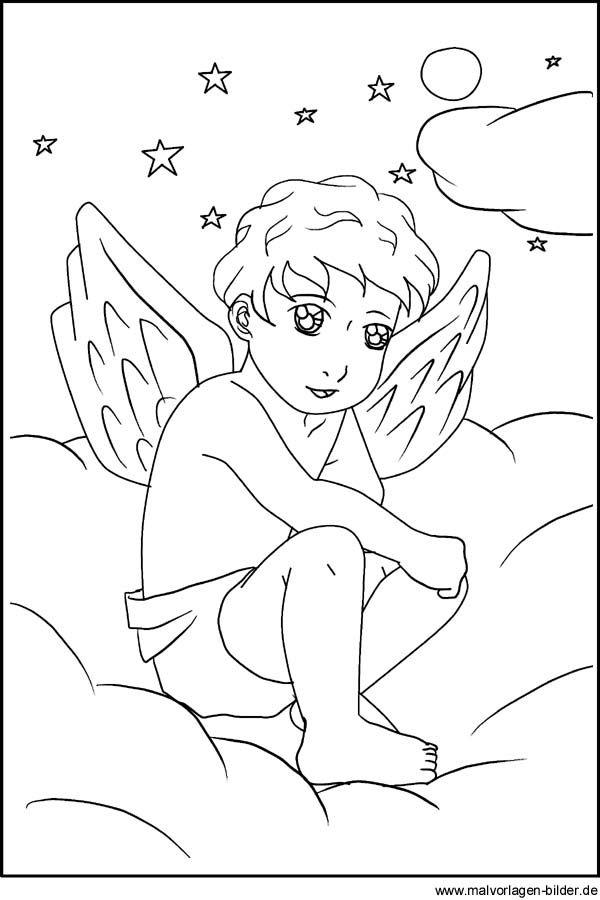 angel  engel mit bildern  malvorlagen bibel